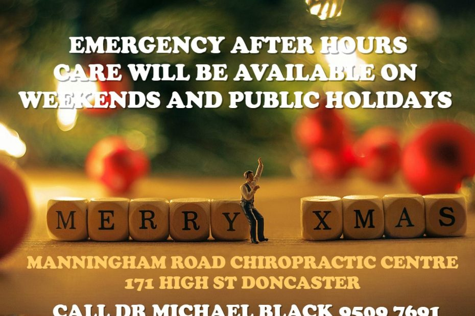 Dr Michael Black Chiropractic Care in Doncaster & Lower Templestowe